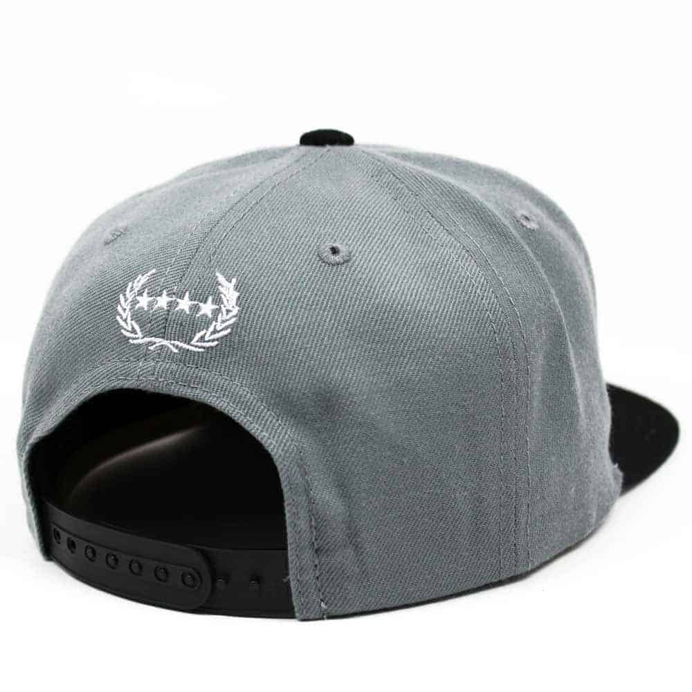 Cool Snapback Hats: CHIEF THUNDER COOL GREY SNAPBACK