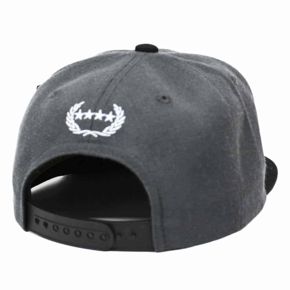 ALL SEEING BLACK GRAPHITE SNAPBACK 5a3ce8458bb