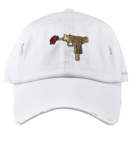 74ef212ab90 AUTOMATIC ROSES WHITE GOLD DISTRESSED DAD HAT